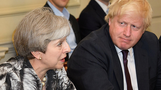 UK's Prime Minister Theresa May (L) and Foreign Secretary Boris Johnson  (Photo: Reuters)