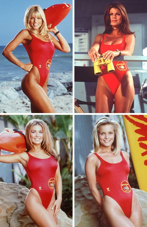 בצוות המצילות של הסדרה המקורית: דונה דריקו, יסמין בלית', קלי פקארד וכרמן אלקטרה (צילום: Gettyimages)
