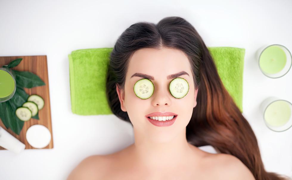 פרוסות על העיניים או טחון על כל הפנים. מלפפון (צילום: Shutterstock)