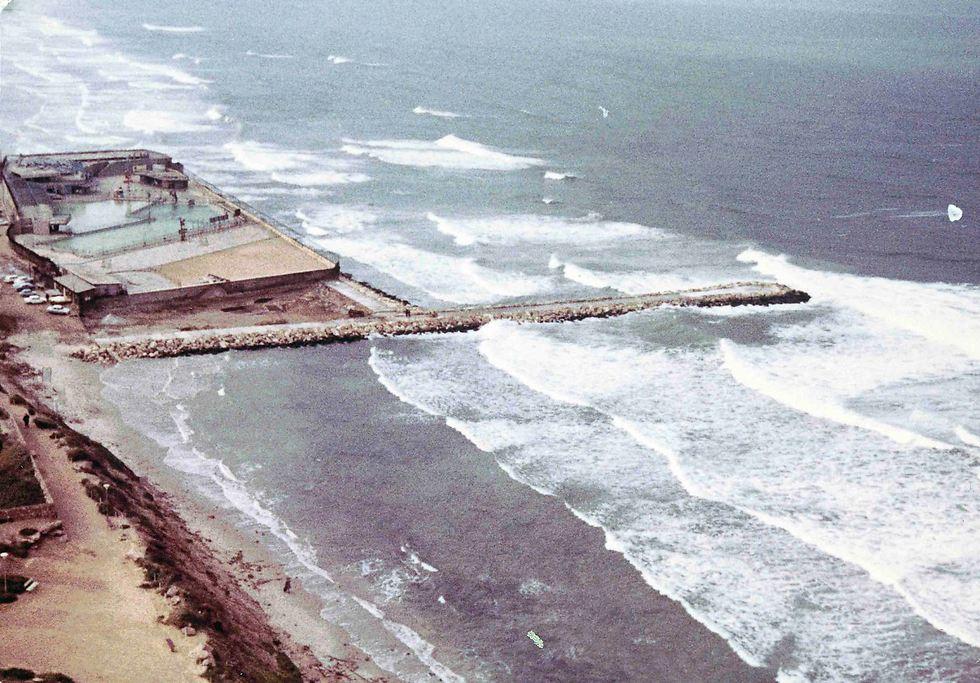 אזור המרינה לפני הקמתה (צילום: באדיבות הצלמניה)