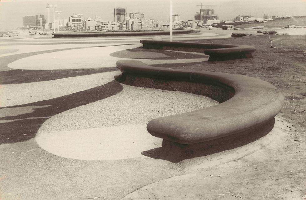 פארק צ'רלס קלור החדש, 1974 (צילום: באדיבות הצלמניה)