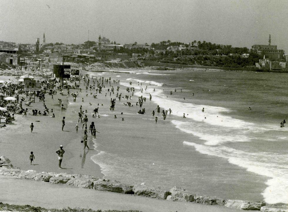 חוף צ'רלס קלור, 1970 (צילום: וילי פולנדר)