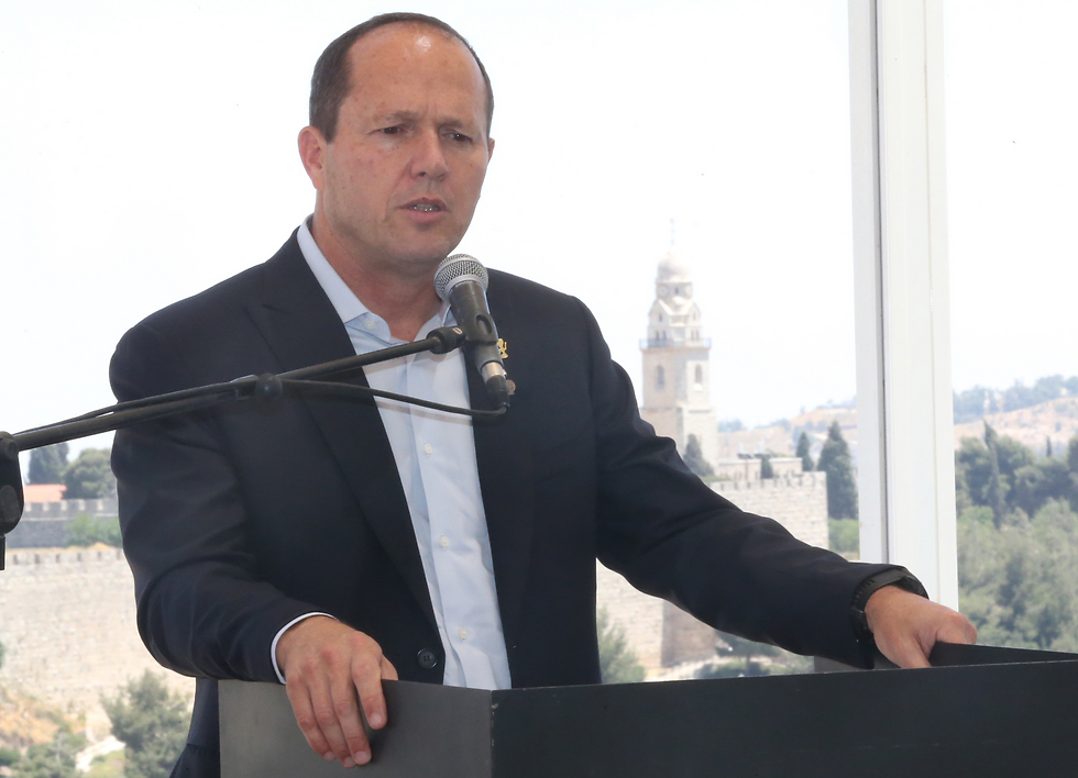 Jerusalem Mayor Barkat (Photo: Oren Aharoni)