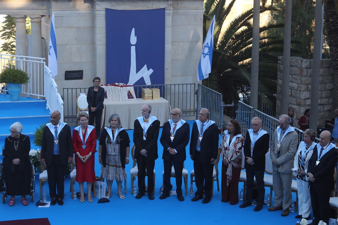 הענקת תארי כבוד באוניברסיטה העברית