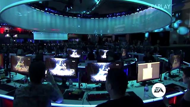 גיימרים בגן העדן של המשחקים (צילום מסך)