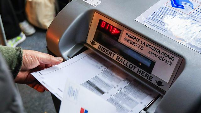 Electronic voting in the United States (Photo: EPA)