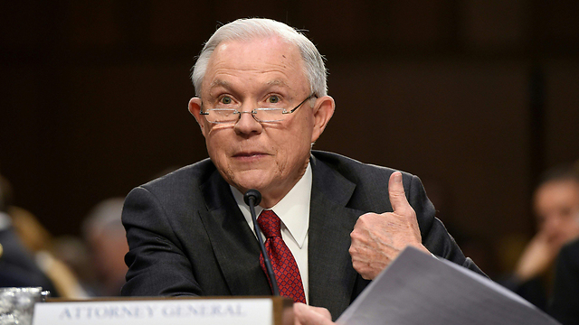 Jeff Sessions testifying (Photo: AFP)