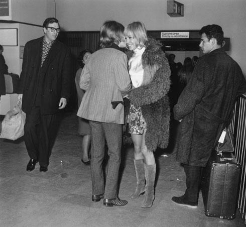 לפני קית' ריצ'רדס: פלנברג עם בריאן ג'ונס, 1966 (צילום: Gettyimages)