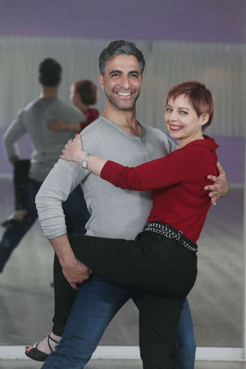 """""""הריקוד תרם לשיווי המשקל שלי, ליציבות ולחיזוק הרגליים"""". הקליקו על התמונה (צילום: צביקה טישלר)"""