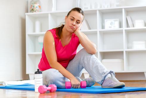 המשקל יורד רק כשמורידים את המשקולות? (צילום: Shutterstock)
