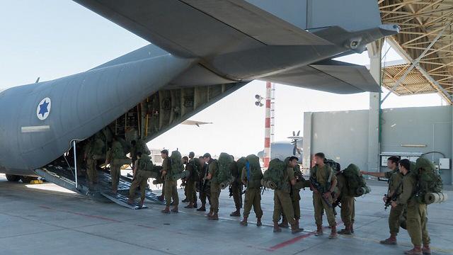 """תרגיל ראשון שבוצע כולו בחו""""ל. לוחמי הקומנדו בקפריסין ( צילום: דובר צה""""ל) ( צילום: דובר צה"""