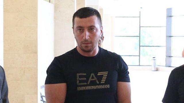 נאשם ברצח: רומן אגרונוב (צילום: מוטי קמחי)