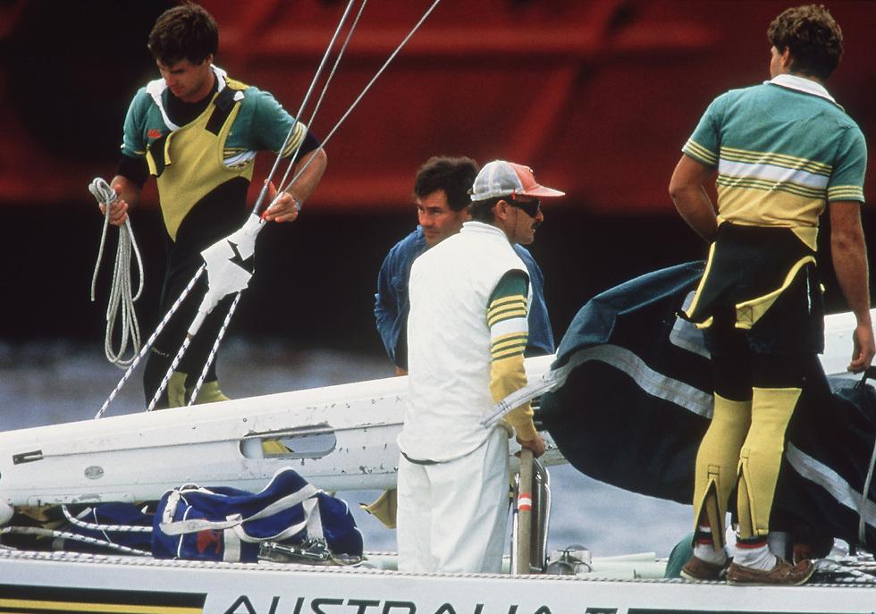 הצוות האוסטרלי שהדהים את כולם ב-1983 (צילום: gettyimages)