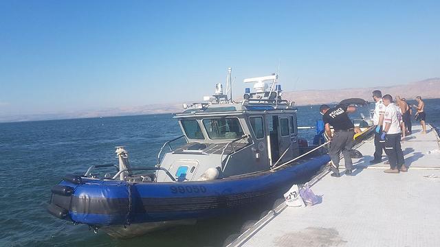 כוחות השיטור הימי בכנרת (צילום: צביקה לבל)