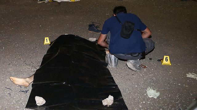 One of the killed terrorists (Photo: Ohad Zwigenberg)