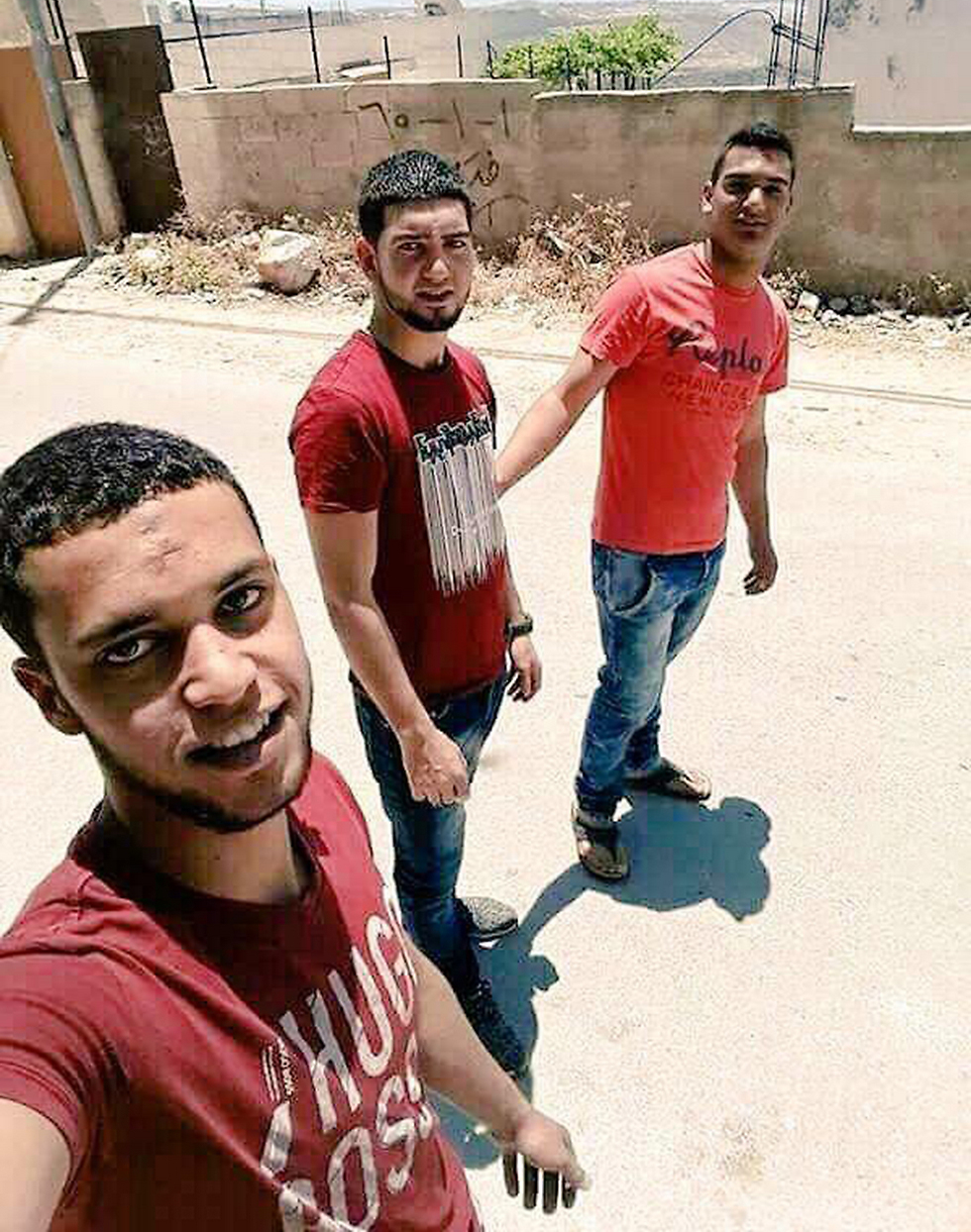 Three terrorists take a selfie before their attack