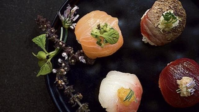 """דגים על אורז, מסעדת """"יא פאן"""" (צילום: יח""""צ)"""