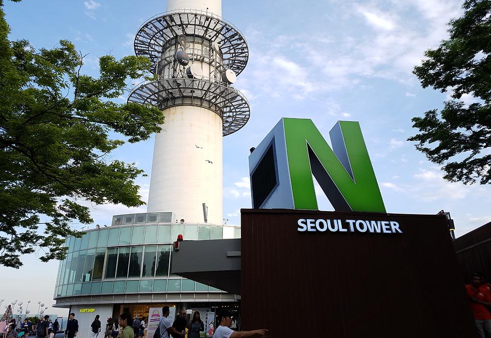 N Tower, המגדל המשקיף על סיאול  (צילום: אייל להמן)