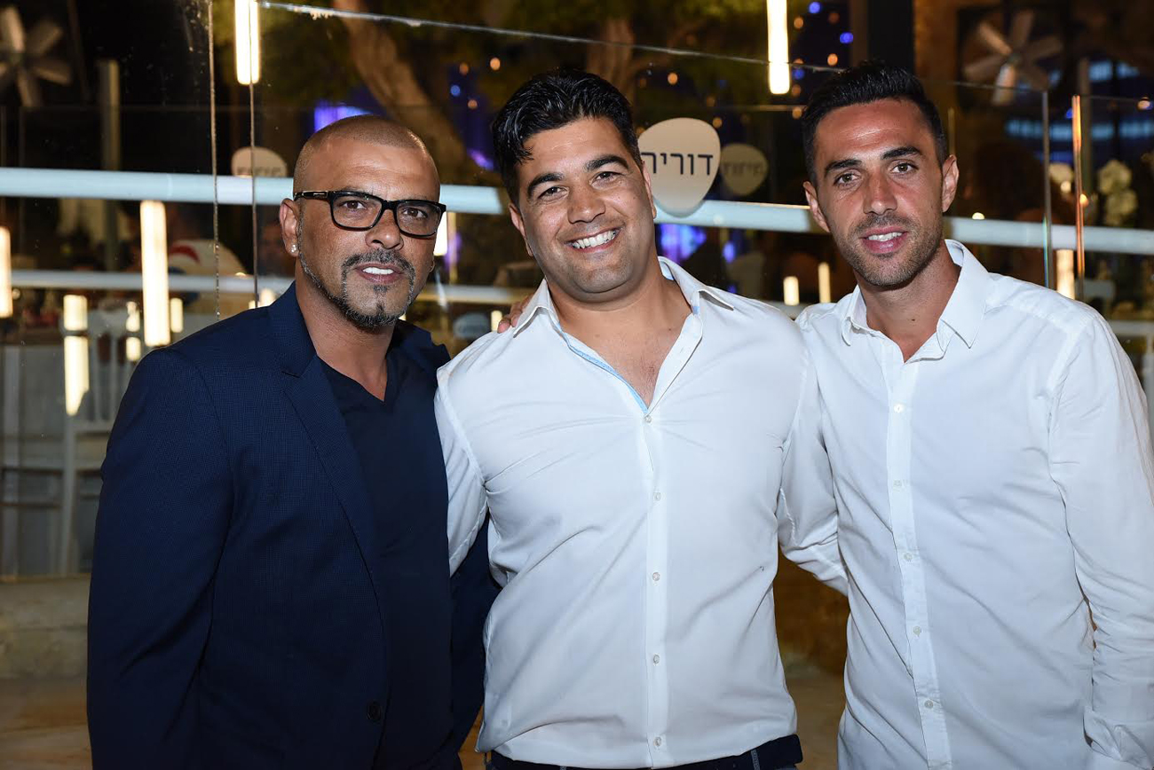 ערן זהבי, אבי ארביב ואייל גולן (צילום: שרון קידר)