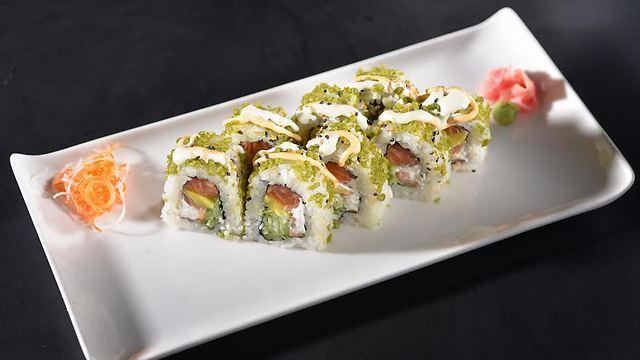 Japanika sushi (Photo: Shai Ben Efraim)