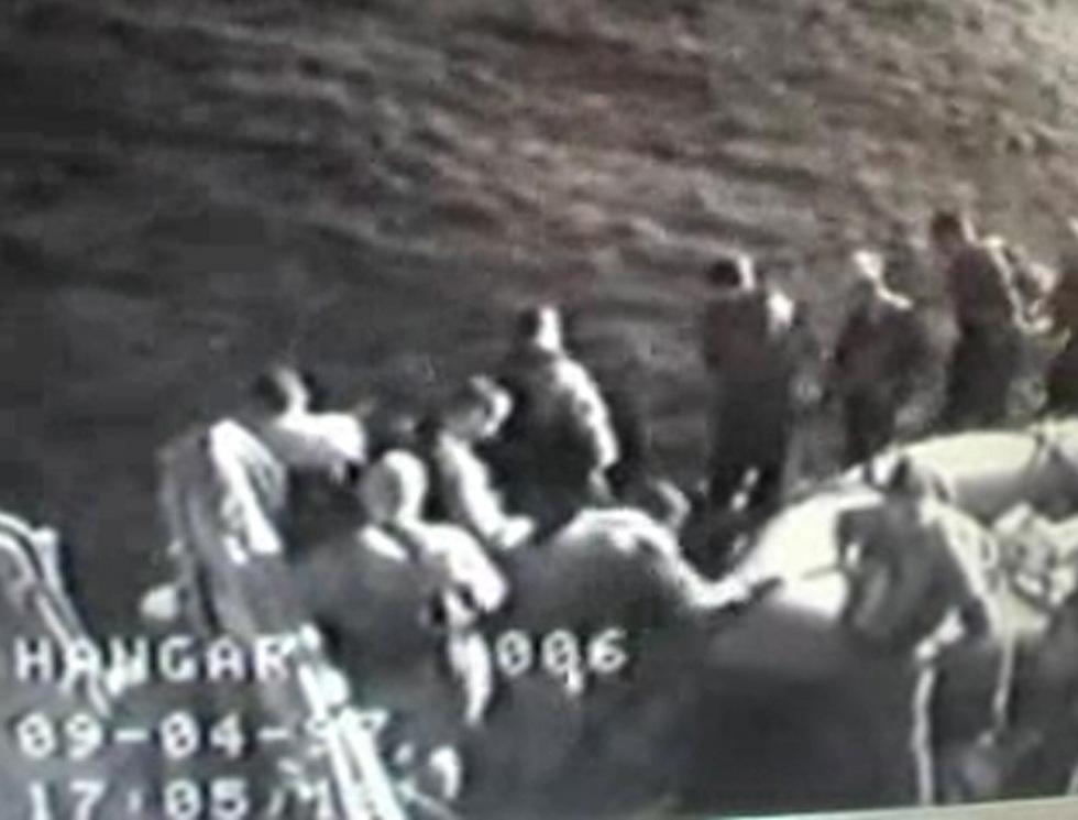 The Shayetet commandos landing on the Lebanon beach (Photo: Courtesy of Channel 10)