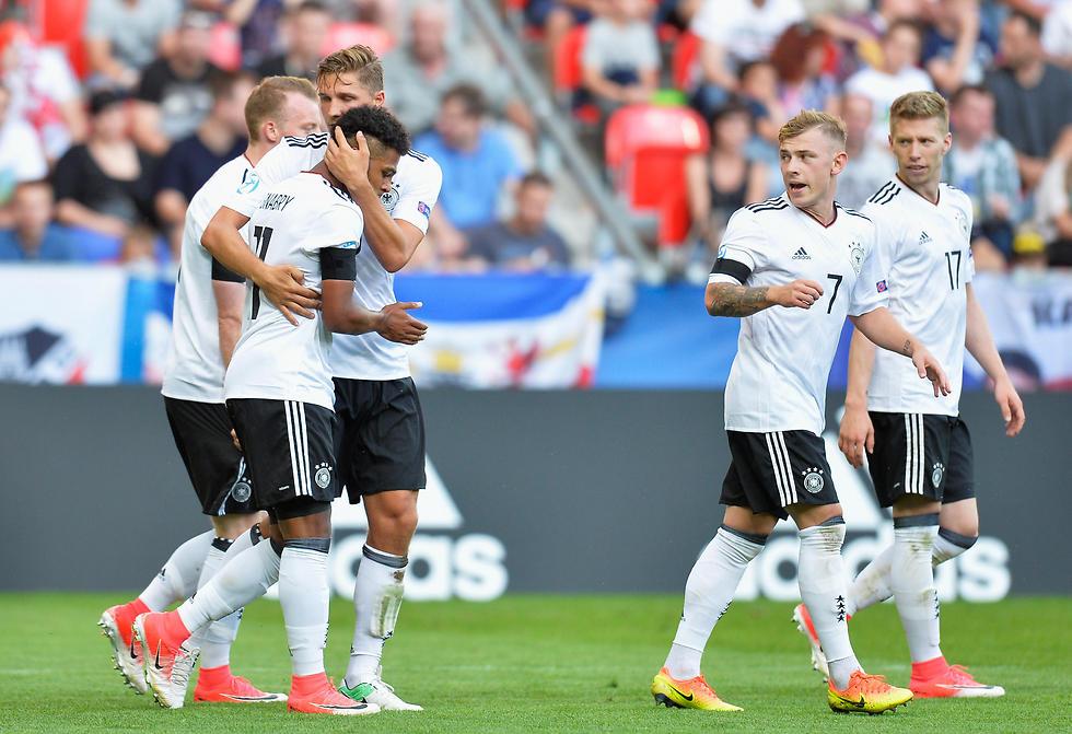 ניצחון קליל. נבחרת גרמניה (צילום: gettyimages)