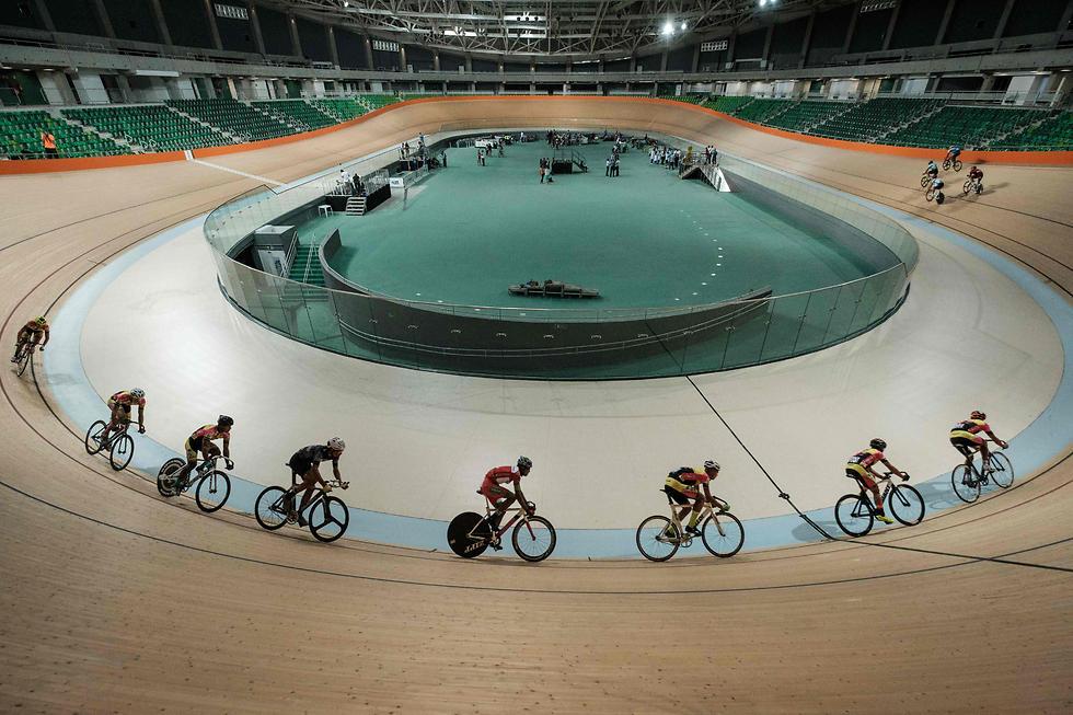 אולם הוולודרום בריו דה ז'ניירו, שאירח את התחרויות באולימפיאדה (צילום: AFP)
