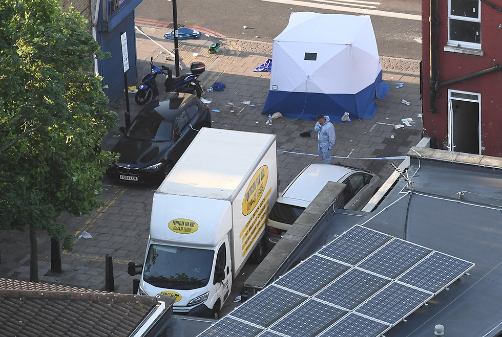המשאית הדורסת (צילום: gettyimages) (צילום: gettyimages)