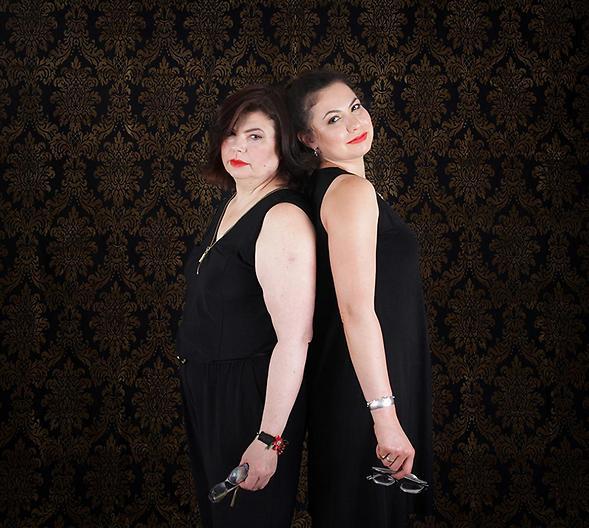 יוליה ואירנה (צילום: דבורה אורבך)