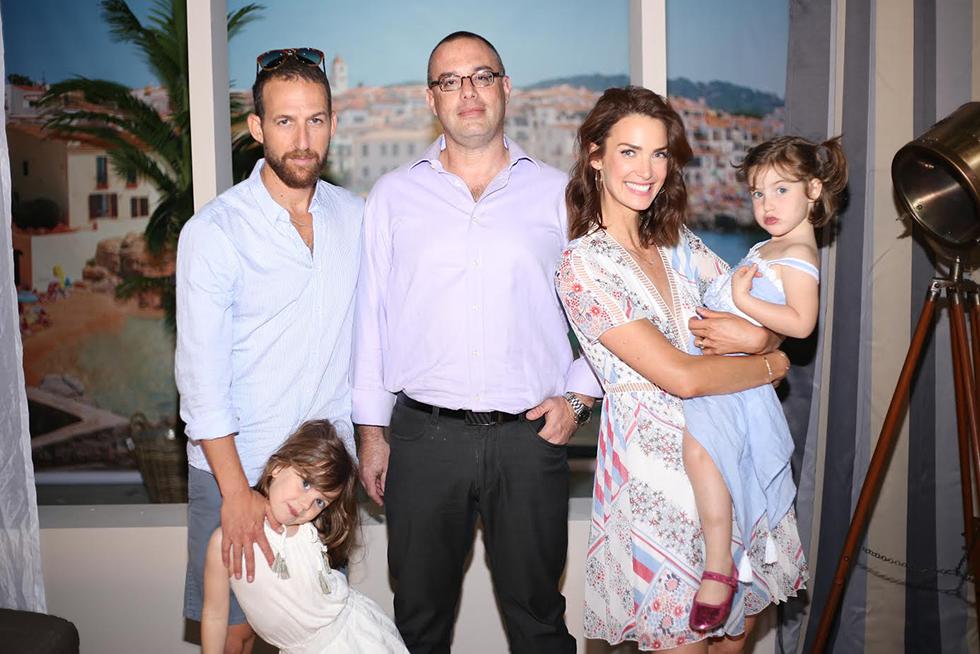 משפחת גולדמן וליאור טנר (צילום: גבע טלמור)