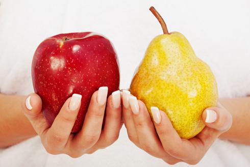 מה אוכלים עם תפוח? רק לא תפוז (צילום: Shutterstock)
