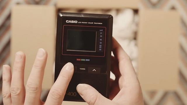 זוכרים את קאסיו TV 400? (צילום מסך)