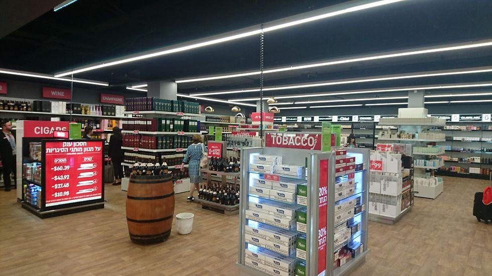 חנות הדיוטי פרי החדשה בטרמינל 1