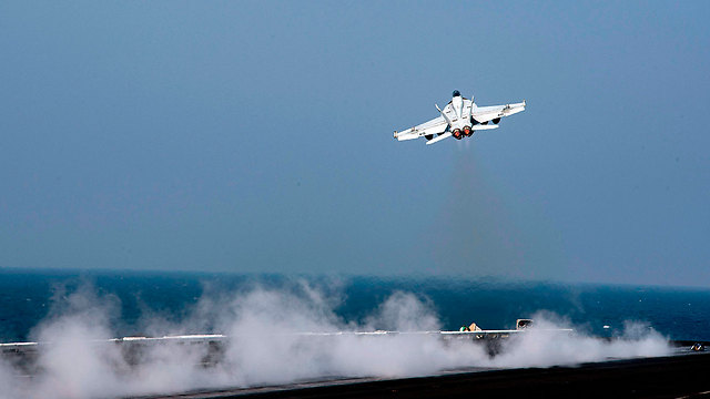 American jet in Syria (Photo: AFP/ US Navy)