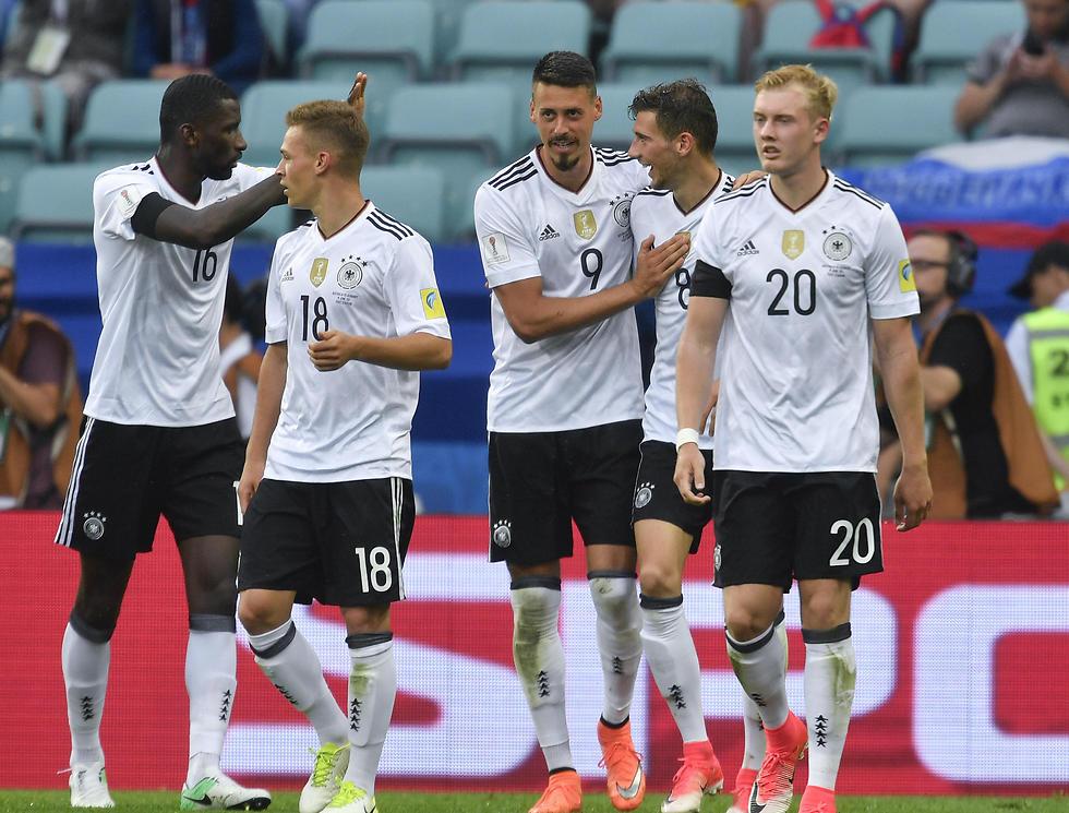 גרמניה חוגגת (צילום: AP)