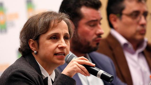עיתונאים במקסיקו נגד NSO (צילום: רויטרס) (צילום: רויטרס)