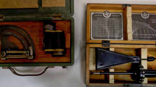 A Nazi medical device used to measure head size (Photo: AP) (Photo: AP)