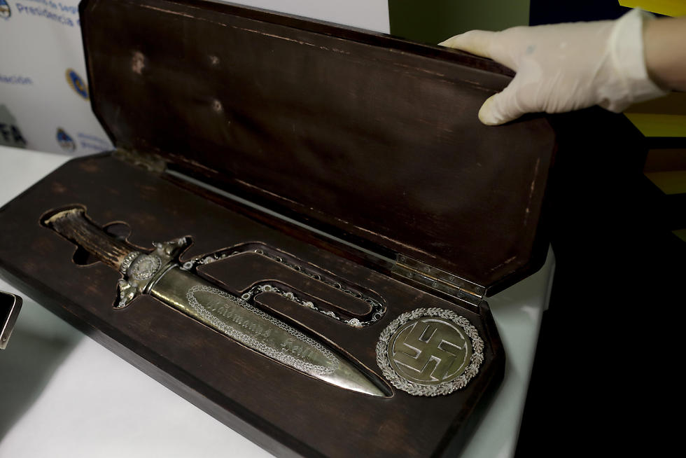A knife with Nazi markings (Photo: AP) (Photo: AP)