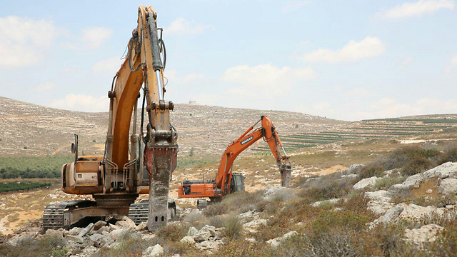 Site of Amichai (Photo: TPS)