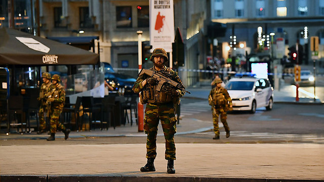 Brusseles security forces following attack (Photo: Getty Images)