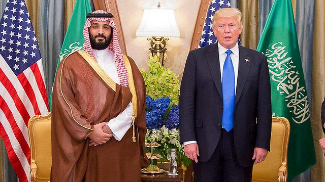Трамп и бин Салман. Фото: MCT