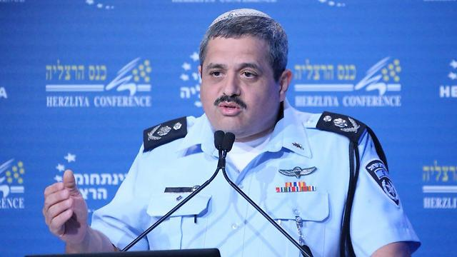 Police Commissioner Roni Alsheikh, whose appointment was approved and encouraged by Netanyahu (Photo: Motti Kimchi)