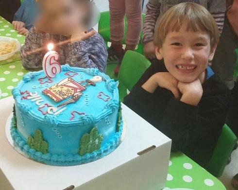 """""""רציתי לצעוק שאני גאה בו"""". יום הולדת 6"""