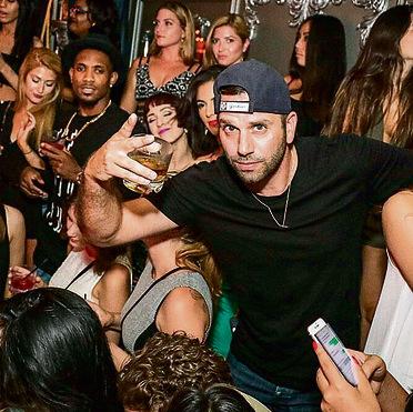 במועדון הלילה שלו בניו־יורק