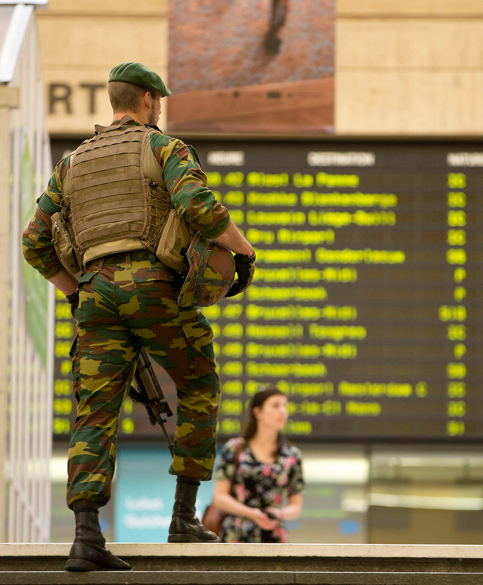 Brussels security (Photo: AP)