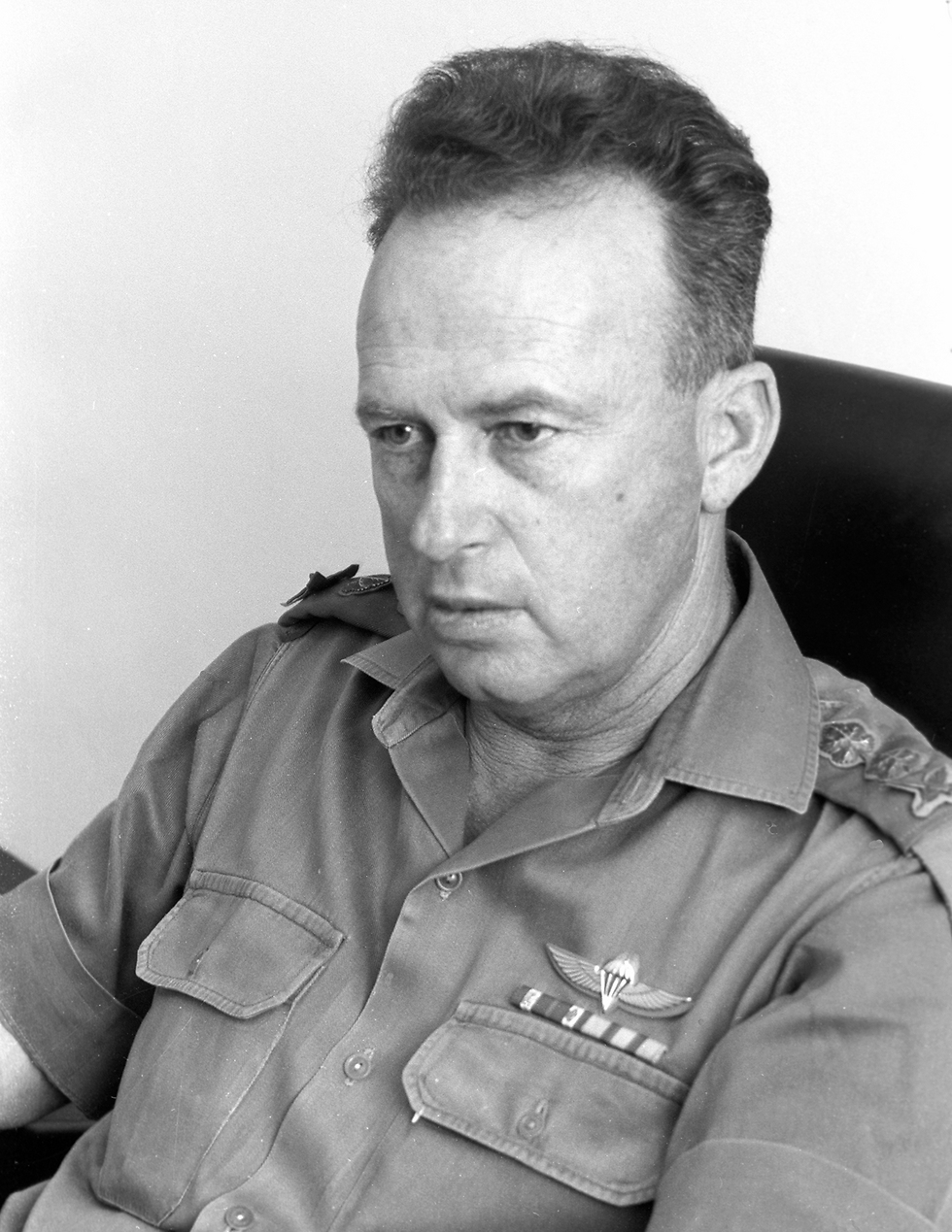 Chief of Staff Yitzhak Rabin. Insisted on striking the Egyptians with artillery (Photo: Miki Astel, courtesy of IDF Archive at Defense Ministry)