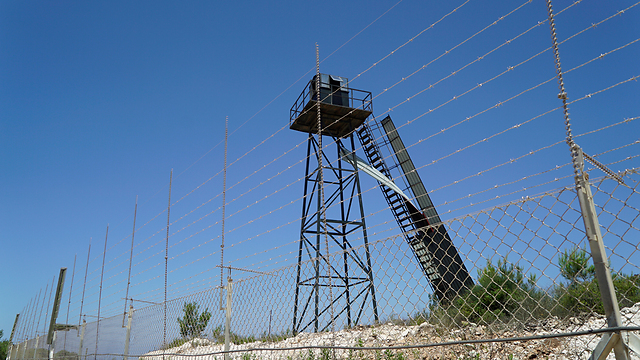 A Hezbollah outpost by the border (Photo: IDF Spokesperson's Unit) (Photo: IDF Spokesperson's Unit)