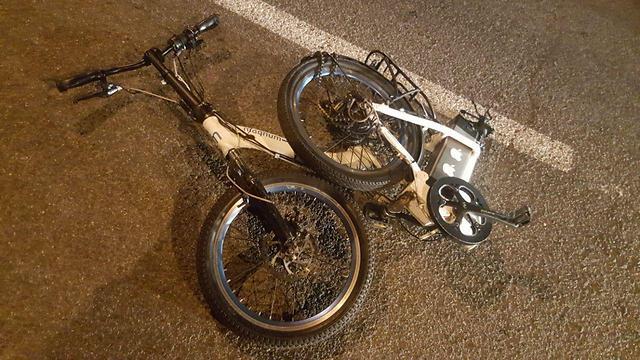 רוכב אופניים בן 15 נפצע קשה בתאונה בחיפה (צילום: איחוד הצלה) (צילום: איחוד הצלה)