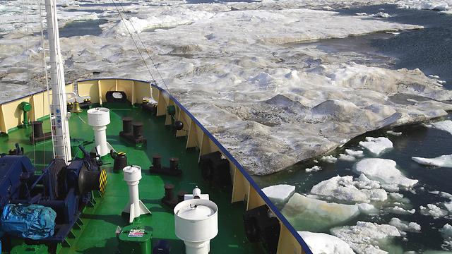 באופן אירוני, שינוי האקלים פותח אפשרות שיט ידידותית יותר לסביבה (צילום: shutterstock) (צילום: shutterstock)