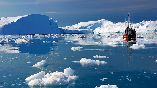 ההתחממות בקוטב כפולה ומשולשת מהממוצע העולמי (צילום: shutterstock) (צילום: shutterstock)